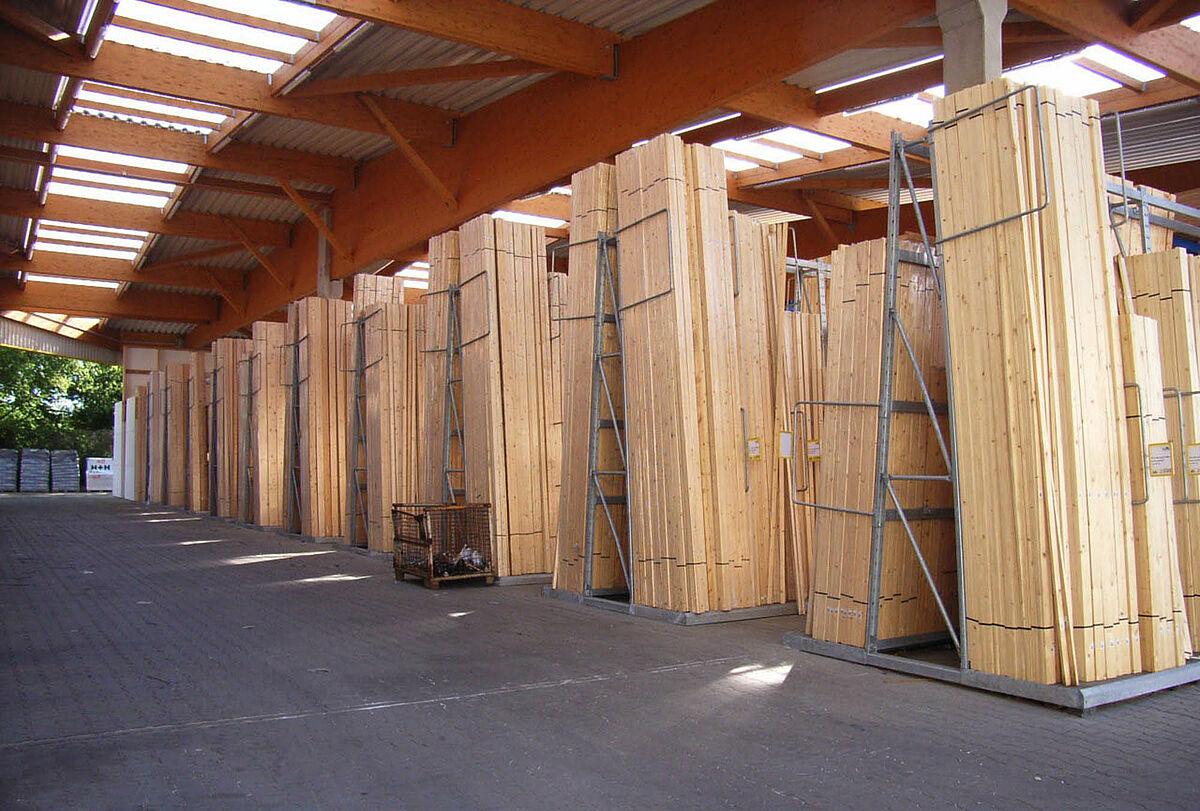 Vertikaleregale | Senkrechte Lagerung | OHRA GmbH
